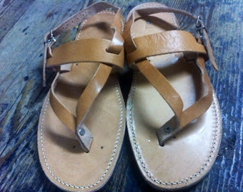 Authentic handmade, Greek leather sandals