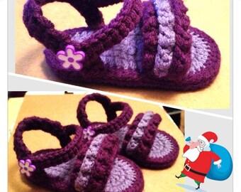 Ruffled Sandal