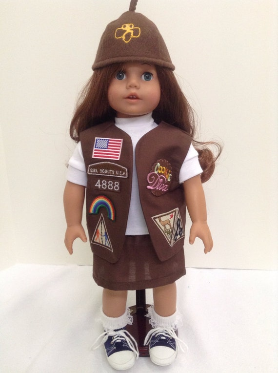 Brownie Uniform Vest 85