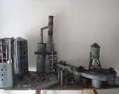 Warhammer 40k Scale model of a city in ruins