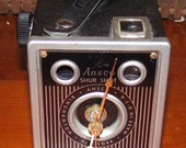 Ansco Shur Shot Vintage Camera Clock