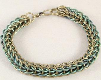 Loki Titanium Chainmail Bracelet