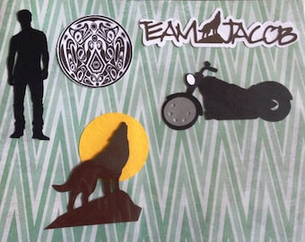 Team Jacob Scrapbook 5 Piece Set