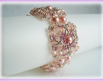 Rectangular bracelet beading TUTORIAL