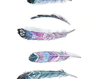 Feathers - Archival Print