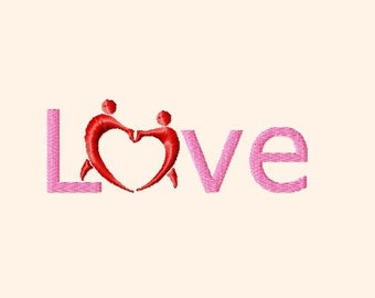 Embroidery pattern - Love