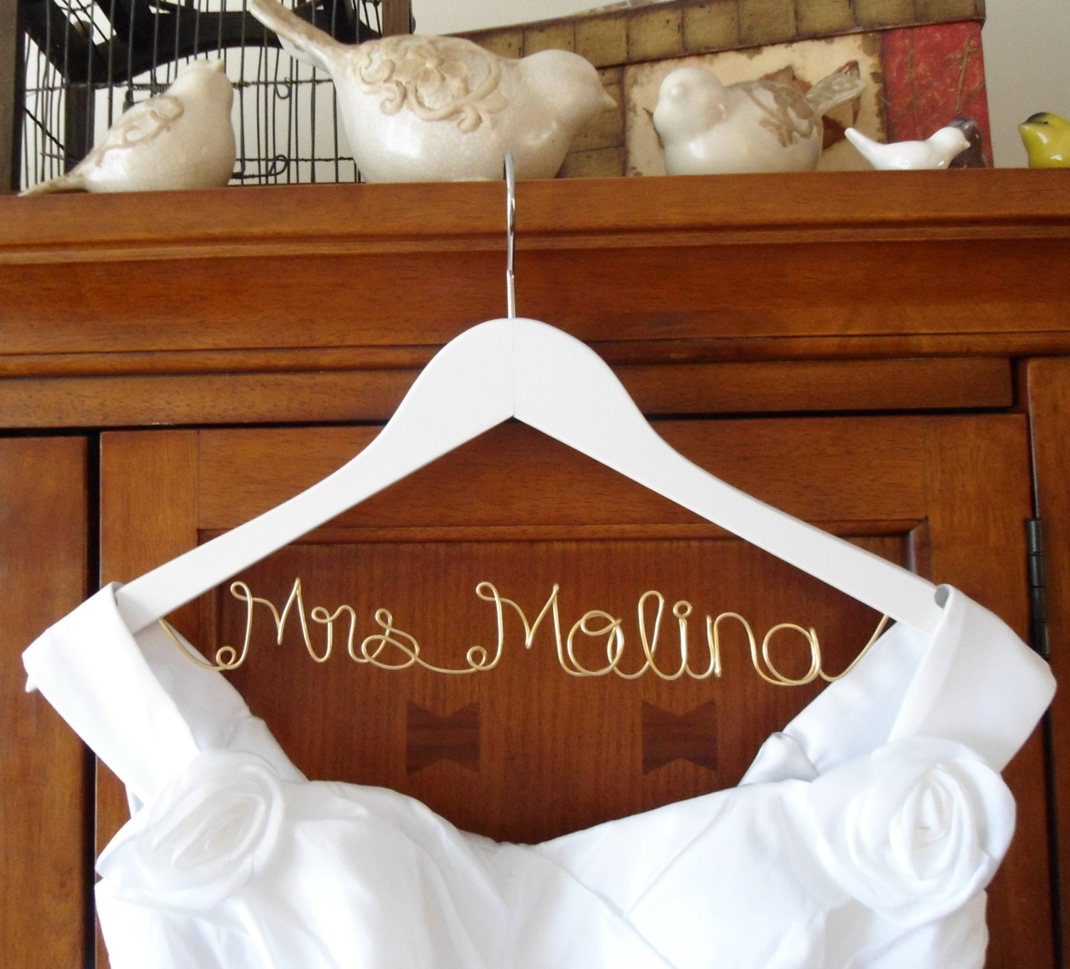 bride hanger bridal hanger wedding dresshanger wedding