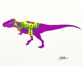 Dala dinosaur - tyrannosaurus rex 8 x 10