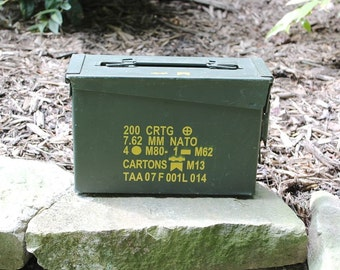 The 30 Ammodor ammo can tactical cigar humidor