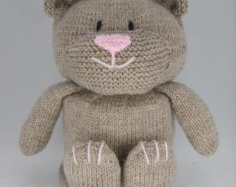 KNITTING PATTERN - Bear Toilet Roll Cover Knitting Pattern Download From Knitting by Post