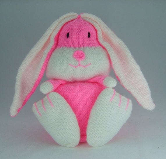 Knitting Pattern For Toilet Paper Holder : KNITTING PATTERN Rabbit Toilet Roll Holder Knitting Pattern