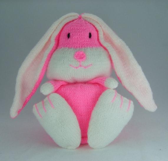 KNITTING PATTERN Rabbit Toilet Roll Holder Knitting Pattern