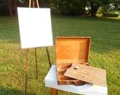 Vintage artists paint case / box