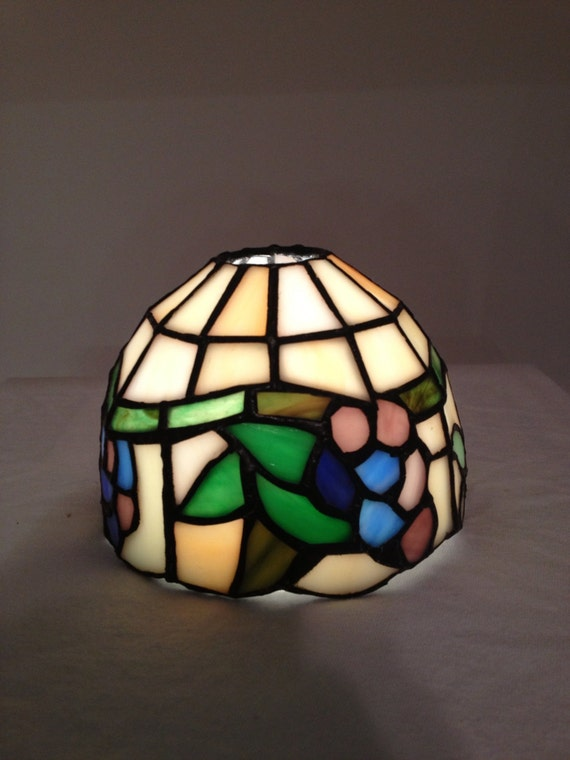 items similar to small tiffany style lamp shade on etsy. Black Bedroom Furniture Sets. Home Design Ideas