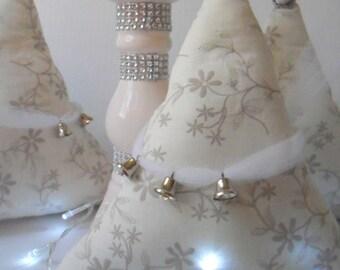 Christmas sale, winter decoration, Christmas tree, white Christmas tree, white Christmas decor,fabric Christmas