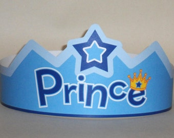 Prince Paper Crown - Printable