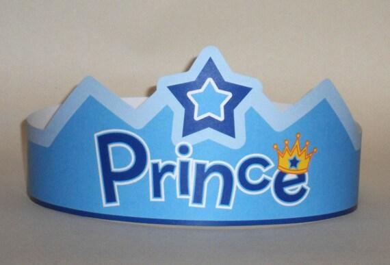 Prince Crown Template prince paper crown printable by putacrownonit on ...