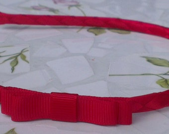 Handmade Headband/Alice Band with Tailored Grosgrain Bow