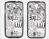 The Beatles Samsung Galaxy S3 S4 S5 Case,The Beatles Lyric Galaxy S3 S4 S5 Hard Rubber Case,cover skin Case for Galaxy S3 S4 S5