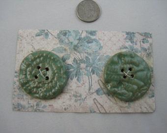 Textured Ceramic Buttons