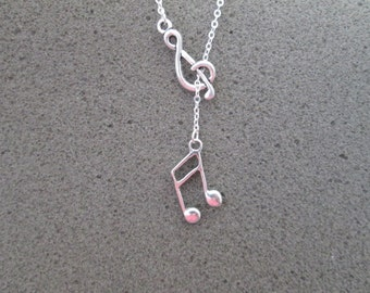 Music Lover's Lariat Necklace