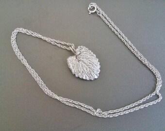 Silver Tendril Pendant