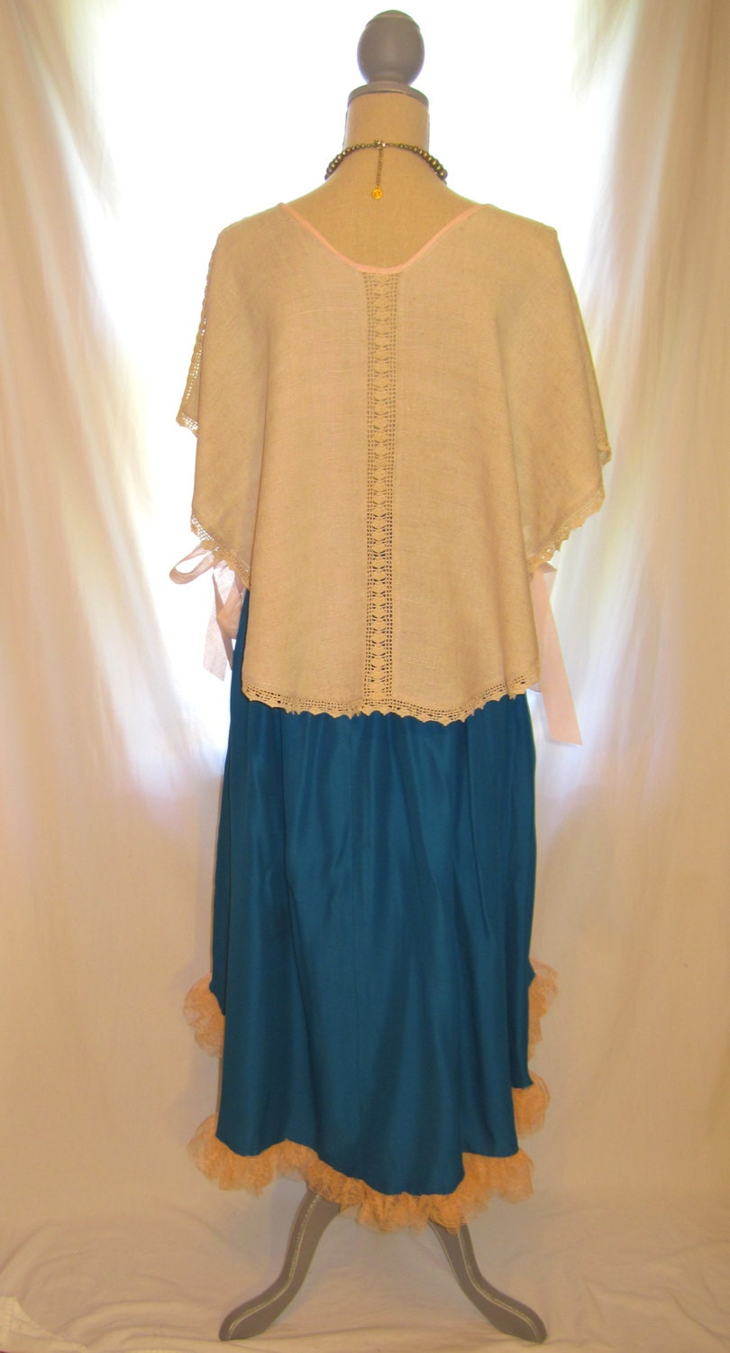 One Of A Kind Unusual Womens Clothing Poncho Tunic By