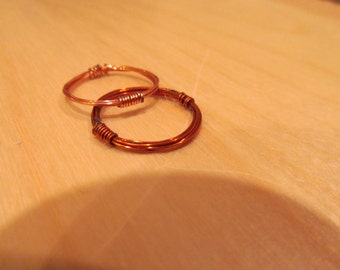 Wrapped Band Stacking Ring