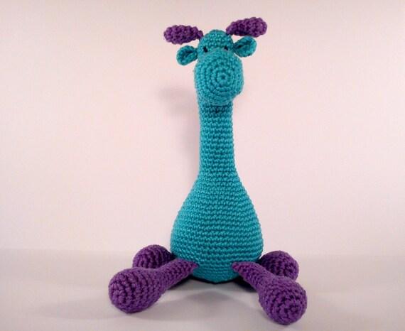 Amigurumi Cotton Yarn : Items similar to Amigurumi giraffe Amigurumi crochet ...