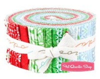 "CLEARANCE - Solstice by Kate Spain for Moda Jelly Roll, 40 - 2.5"" strips."