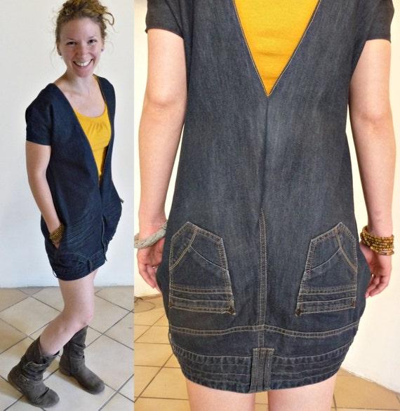 Что перешить из старых джинсов своими руками