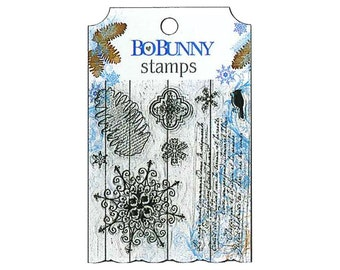 Bo Bunny Clear Stamps Powder Mountain