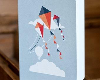 GREETING CARD KITES