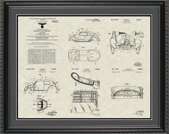 Volkswagen Patent Collection VW Driver Mechanic Gift PVOLK2024
