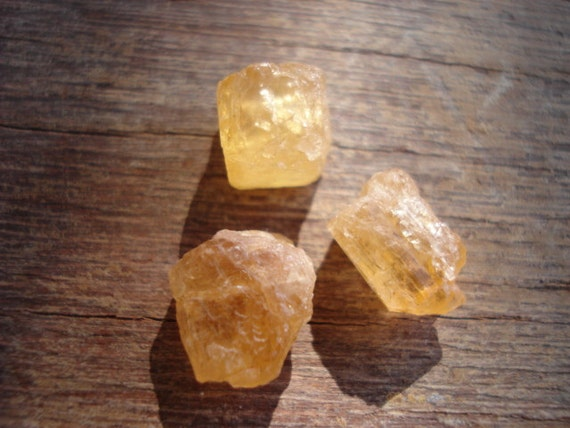 Rough Yellow Imperial Topaz Big Raw Uncut Golden by ...Raw Imperial Topaz