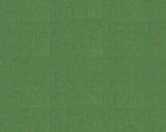 Solid Green Fabric - Bella Solid Dill (green)  by Moda Basics Fabrics 9900 77 - 1/2 yard