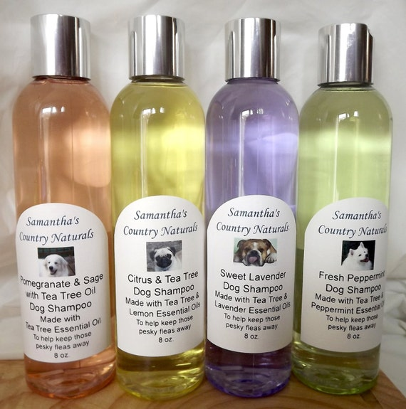 Samantha's Country Naturals Dog Shampoo..made with Pure Essential Oils
