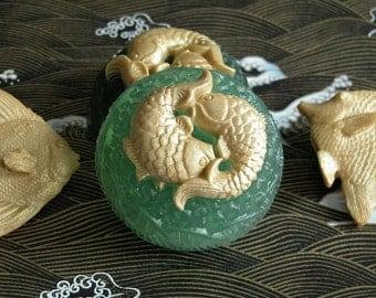 Gold Fish Glycerine Soap Set - Decorative Soap - Gift Soap - Vegan Soap