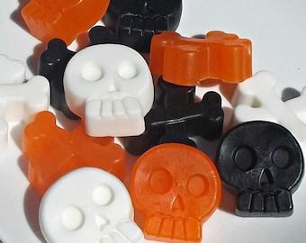 Halloween Party Favors - Halloween Favors, Halloween Soap Favors, School Favors, Class Favors, Non Candy Treat, Teacher Gift - Set of 10