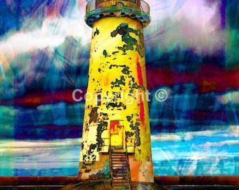 Lighthouse near Prestatyn - Print Run of 100