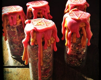 Marriage Battery - Witch Bottle - Spell Bottle - Witches Bottle