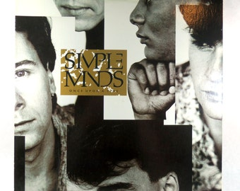 Simple Minds Once Upon A Time, 1985 Vinyl