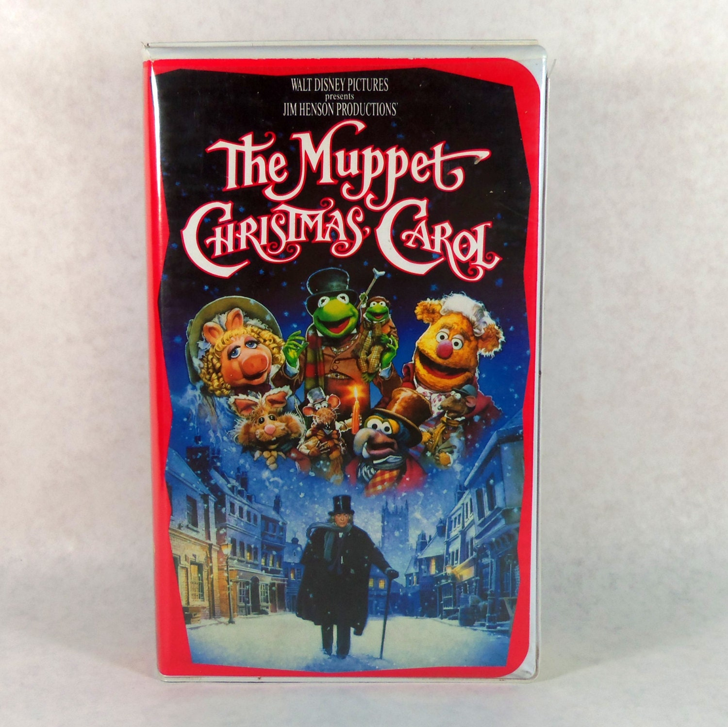 A Muppet Christmas Carol: Vintage VHS The Muppet Christmas Carol 1993 By TheJunkinSailor