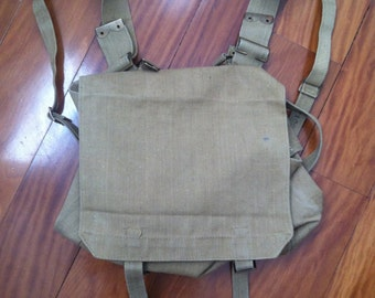 Army Canvas Backpack 1942
