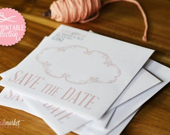 DIY Save the Date Envelope Design