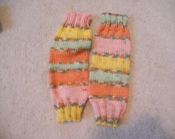 Multicolor Baby Legwarmers