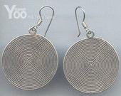 karen hill tribe silver  Earring   ER216