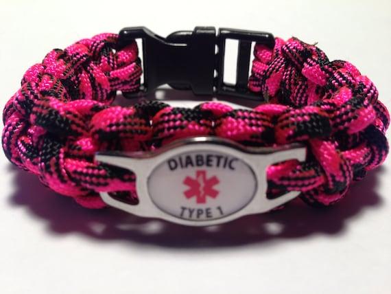 items similar to custom paracord diabetic diabetic type 1
