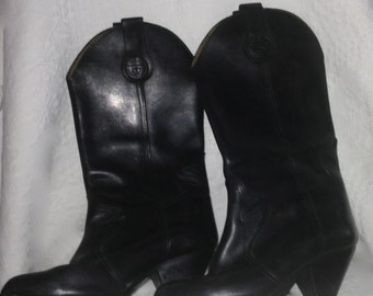 Kick the Camargue, the black leather, 37