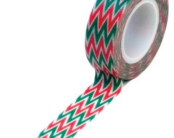 Holiday Chevron Christmas Washi Tape